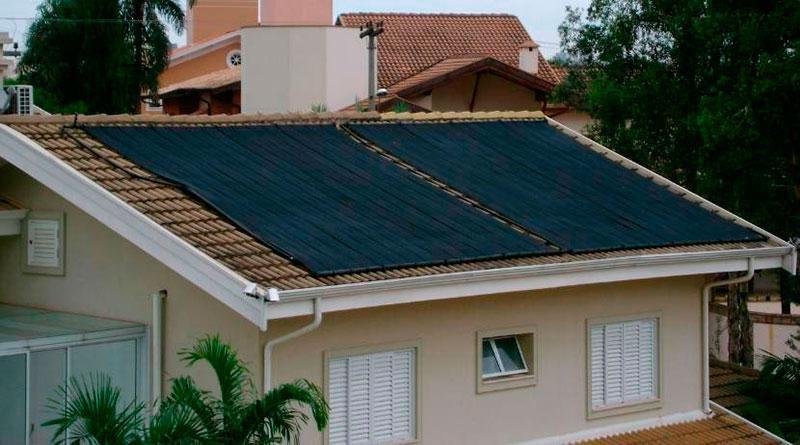 Serviço de Mão de obra instalação  Aquecimento solar até 100 m²