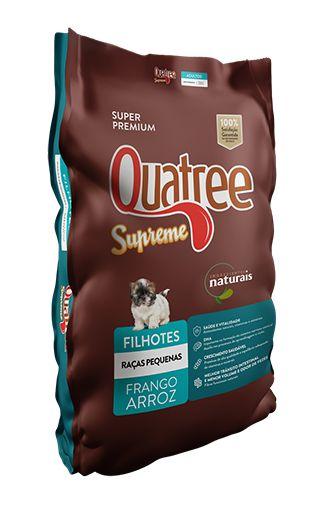 Ração Super Premium Quatree Supreme para Cães Filhotes de Raças Pequenas 3Kg