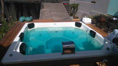 Spa Oásis Azul 1.300 litros - 6 Pessoas - Diazul Piscinas