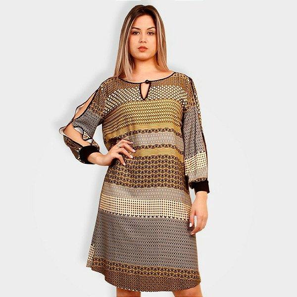 0c63bf693 Vestido Maria Valentina T-Shirt Dress Estampado - Sua loja de moda ...