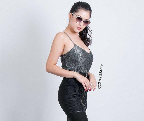 7e36e74b9 Blusa Gatabakana Brilho Alça Metal - Sua loja de moda feminina na ...