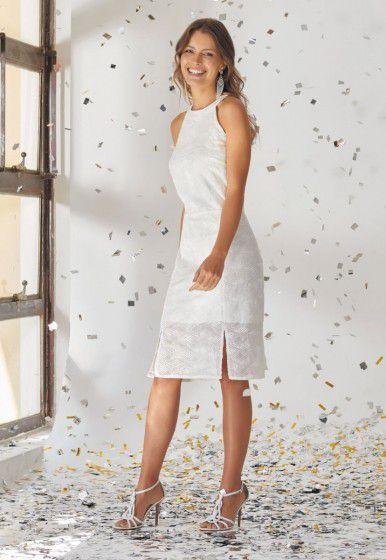 Vestido Viviane Furrier Midi Chiffon