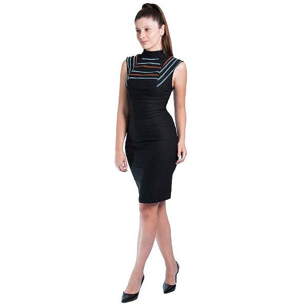 ae97cb456 Vestido Morena Rosa Tubo Trançador - Sua loja de moda feminina na ...