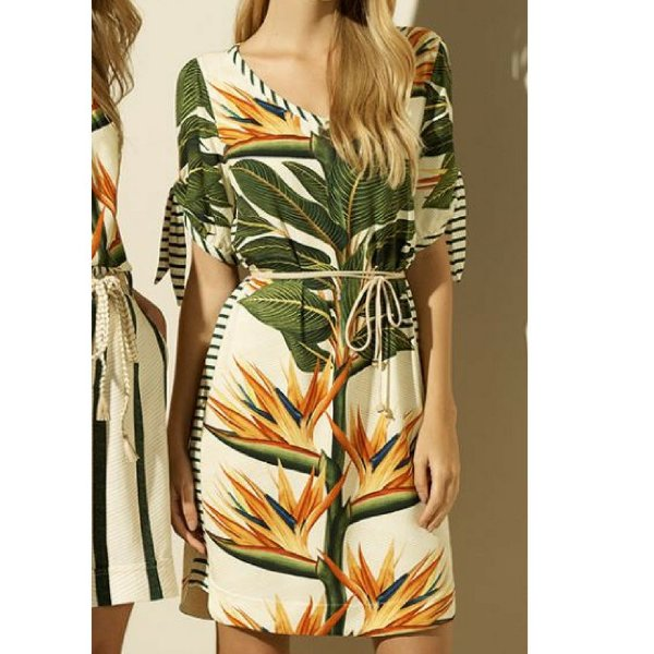 3b72612fb Vestido Cholet Estampado Curto - Sua loja de moda feminina na web ...
