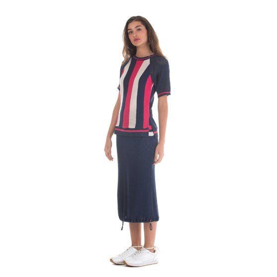 T-Shirt Zinco Tricot Listrada