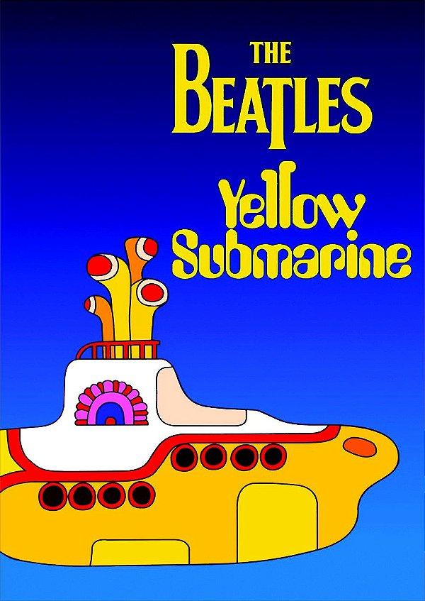 Pôster Beatles Yellow Submarine
