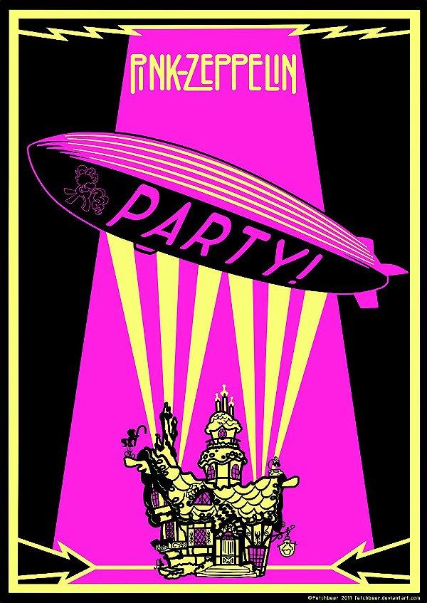 Pôster Led Zeppelin Celebration Days