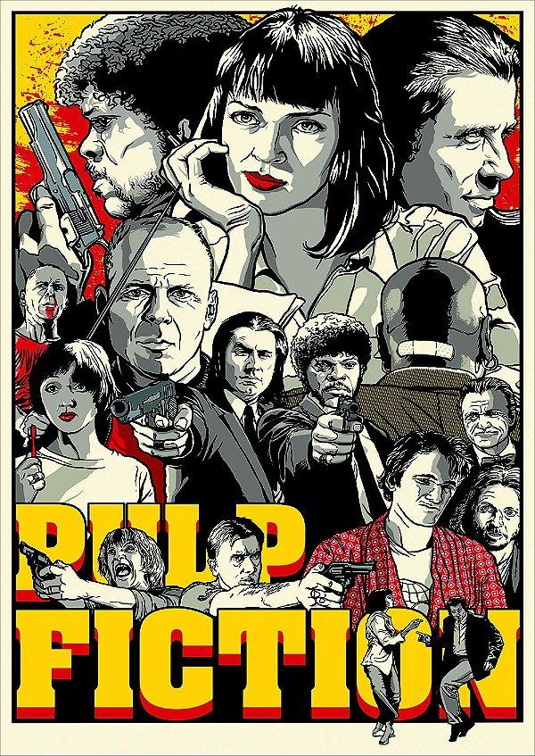 Pôster Pulp Fiction
