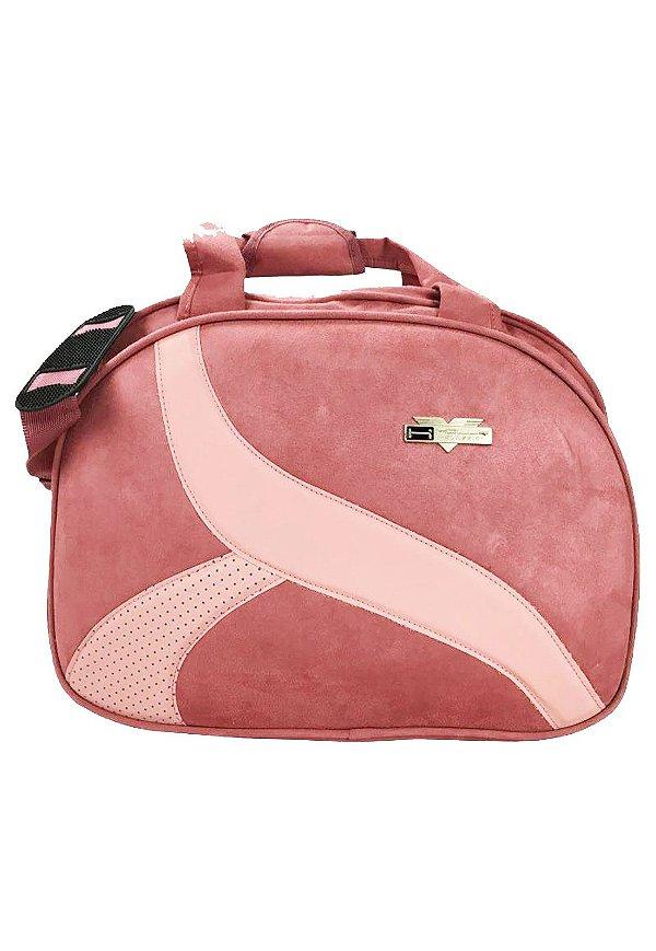 Sacola de Viagem Holly Classic - VSRU52101 - Rosa