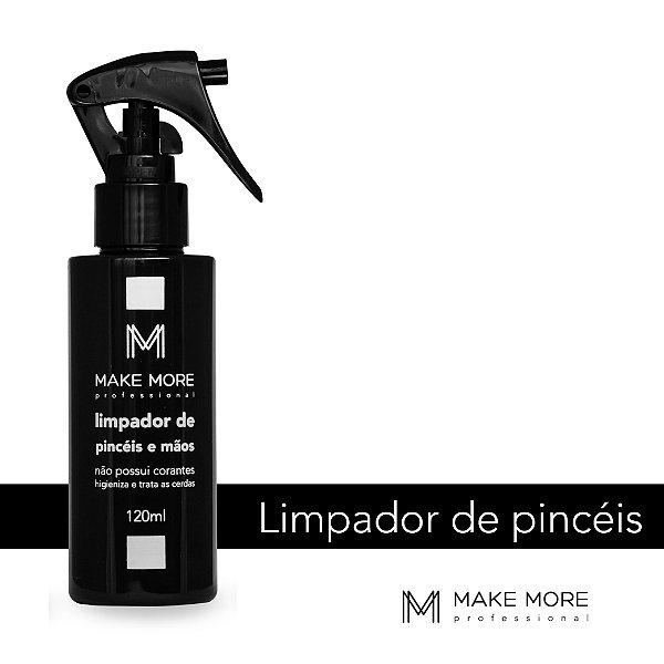 limpador de pincéis make more fiorebela cosméticos