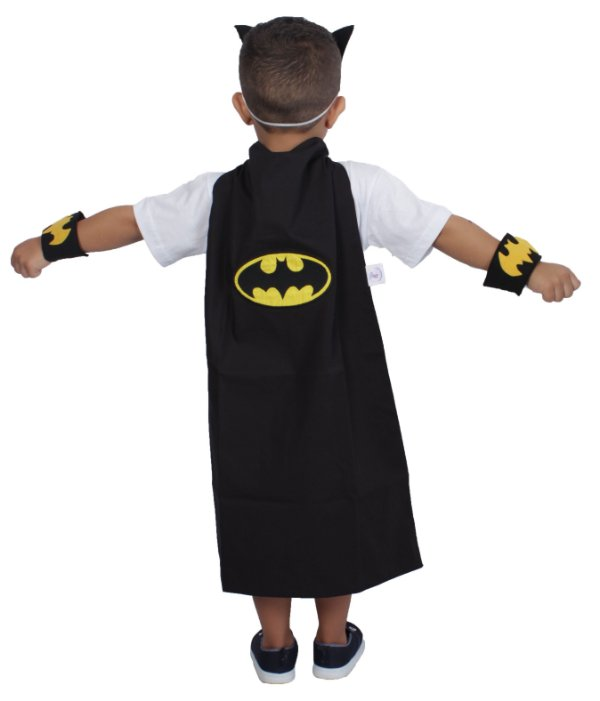Kit inspirado no Batman com capa - Acessórios - QUIMERA KIDS
