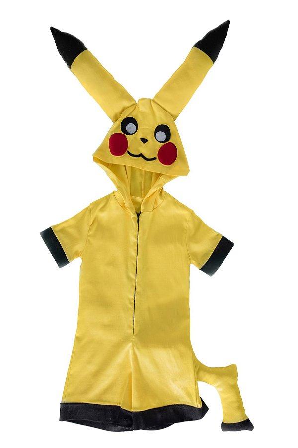 Macaquinho Pikachu, mascote Pokemon do Ash - QUIMERA KIDS