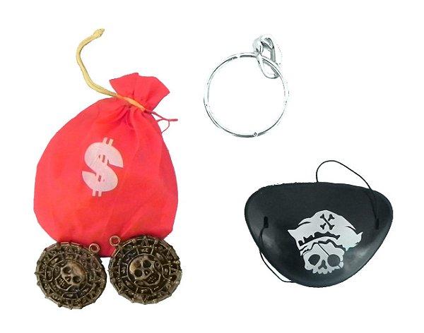 Kit de acessórios de Pirata - Acessórios - QUIMERA KIDS