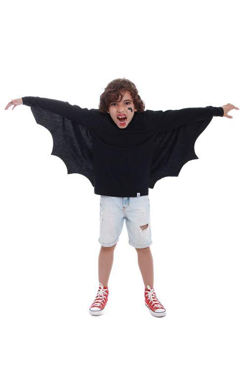 Camiseta Morcego Destemido
