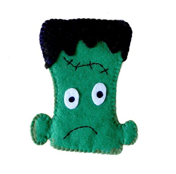Aplique Frankenstein p/ customizar - Halloween -QUIMERA KIDS