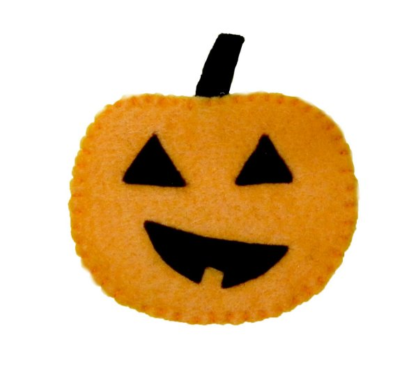 Aplique Abóbora p/ customização - Halloween - QUIMERA KIDS