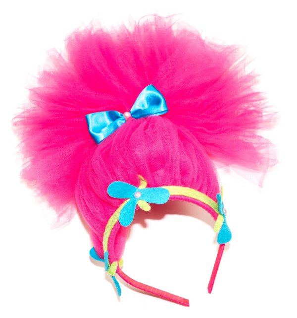 Tiara inspirada na Poppy Trolls - Acessórios - QUIMERA KIDS