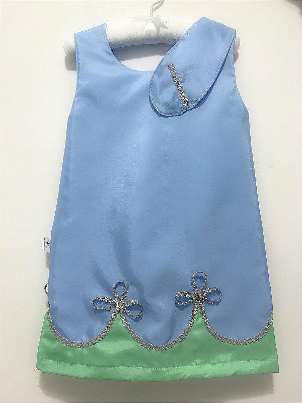 Vestido inspirado na Poppy do Trolls - QUIMERA KIDS