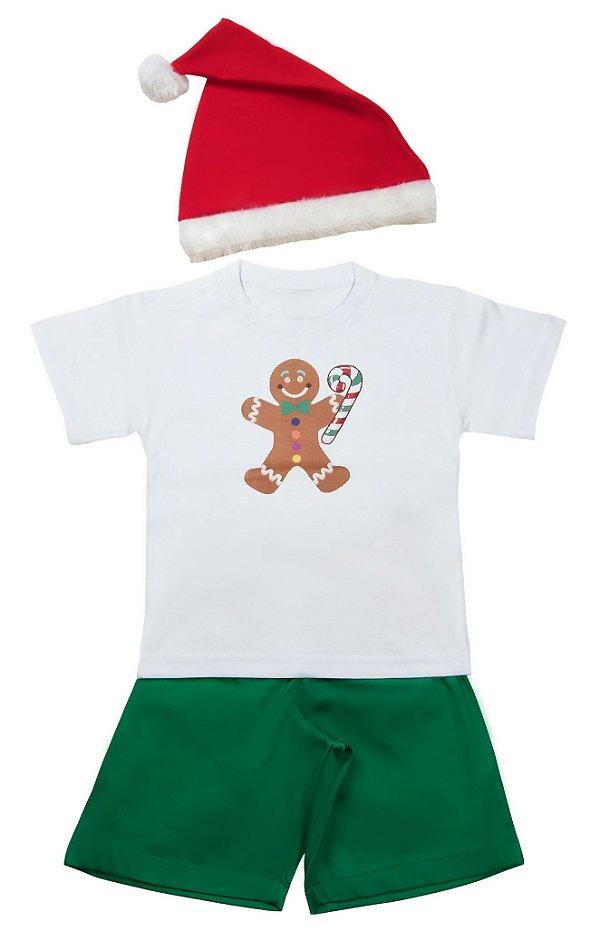Look de Biscoito - Natal - Quimera Kids