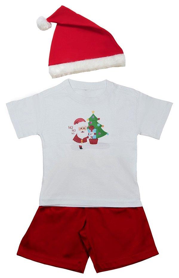 Look de Papai Noel - Natal - Quimera Kids