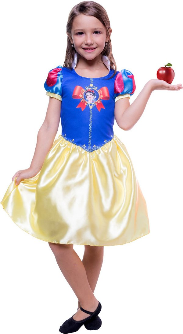 Fantasia da Branca de Neve - Linha POP - Global Fantasias