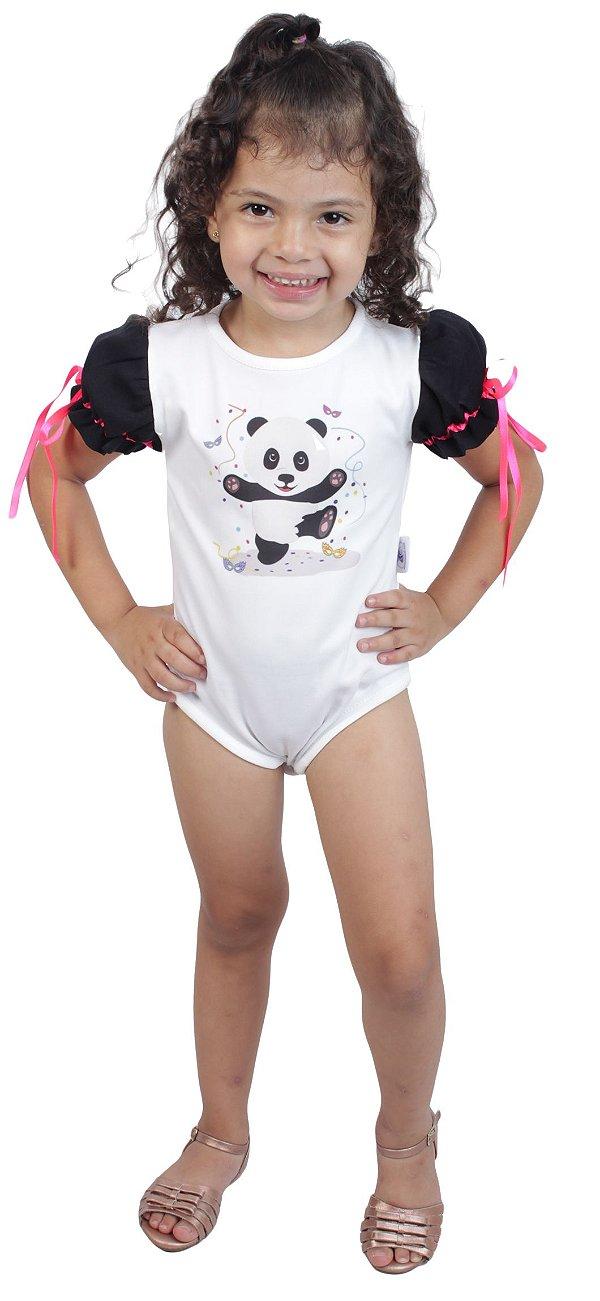 Body de Panda - Carnaval - Quimera Kids