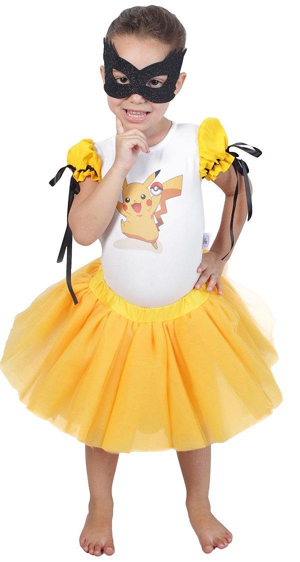 Look inspirado no Pikachu - Quimera Kids