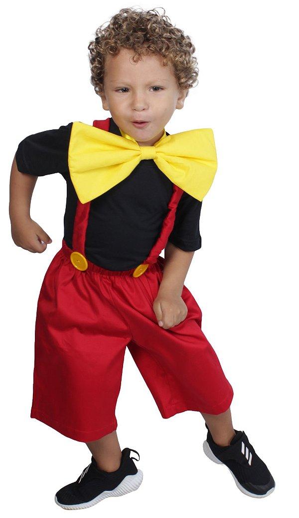 Look inspirado no Mickey Mouse - Quimera Kids