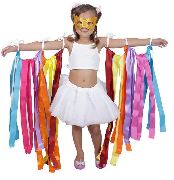 Acessório de fitas - Carnaval - Quimera Kids