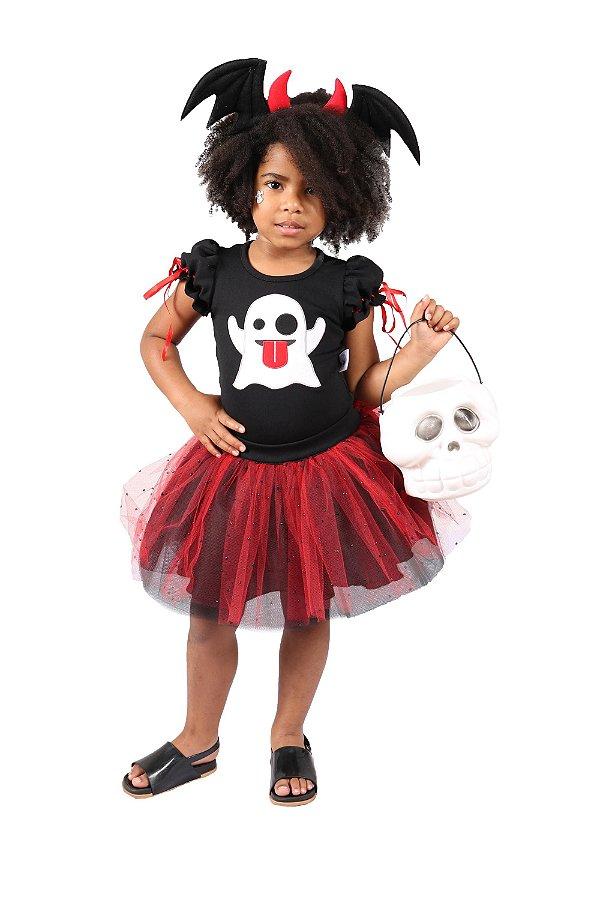 Look de Fantasma Emoji - Halloween - QUIMERA KIDS