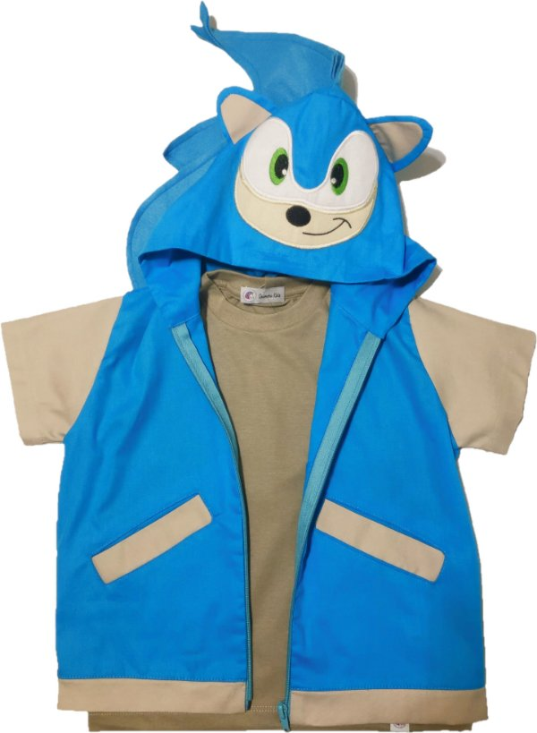 Look do Sonic - QUIMERA KIDS