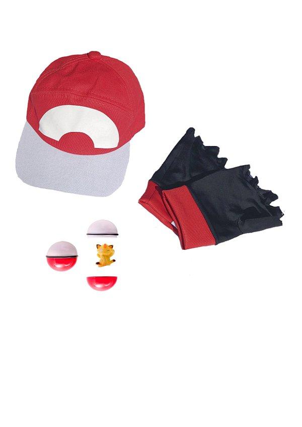 Kit de acessórios do Ash XYZ, treinador de Pokemon - Acessórios - QUIMERA KIDS