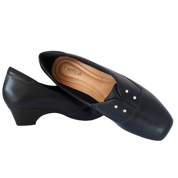 Sapato Azul Marinho Enfermagem Neftali Comfort