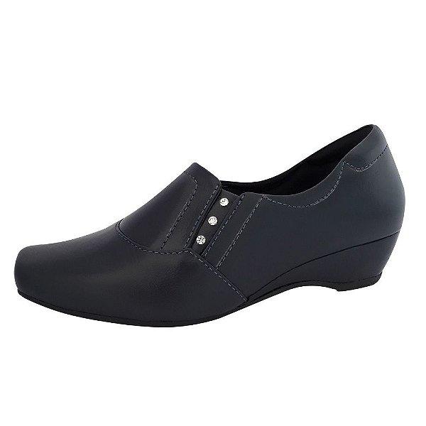 Sapato Feminino Azul Marinho Neftali Comfort