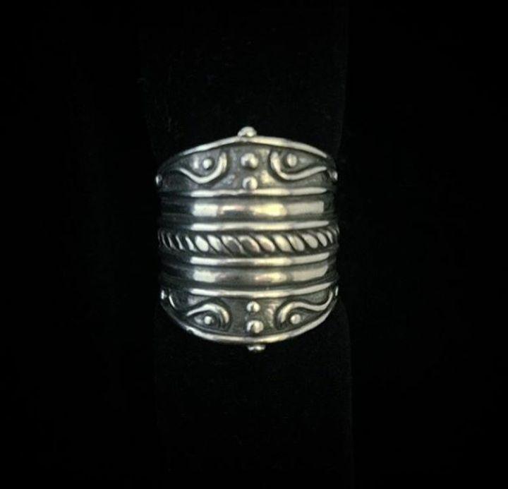 Anel Boho em Prata Bali925