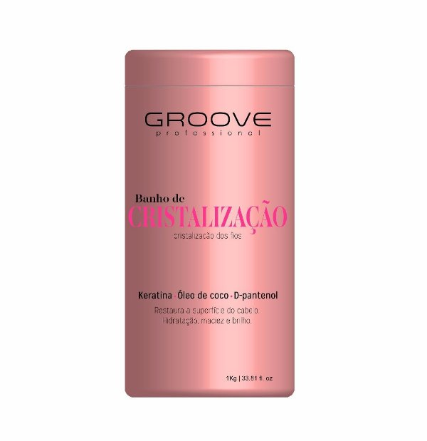 Groove Professional| Banho de Cristalização dos Fios 1Kg