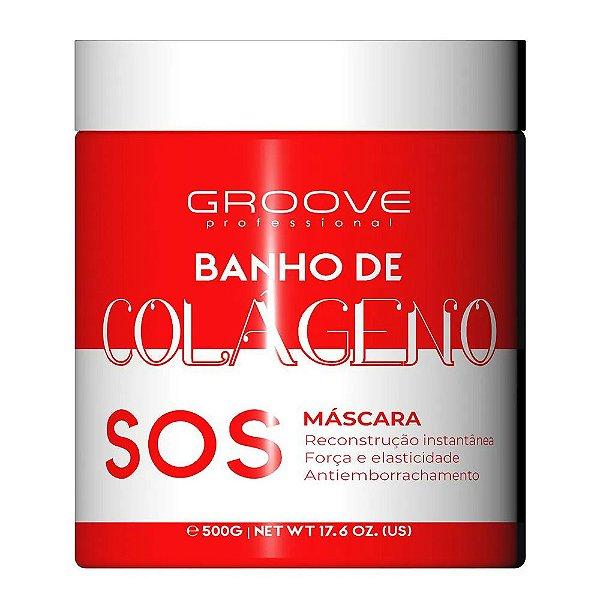 Máscara SOS Banho de Colágeno SOS 300g - Groove Professional