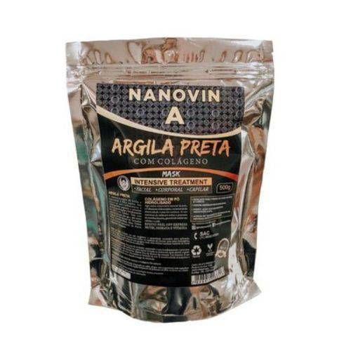 Argila Preta 500g - Nanovin A