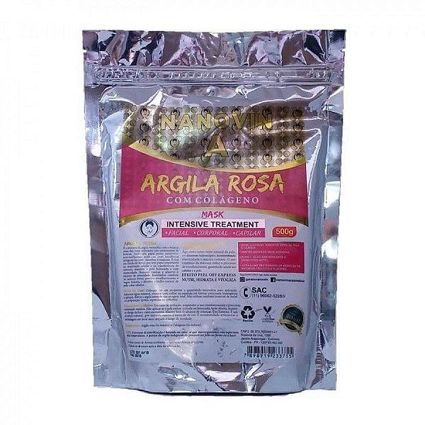 Argila Rosa 500g - Nanovin A