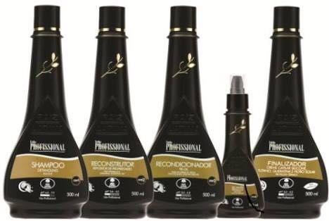 Kit Escova Acetinado 5 Passos 500ml - Raiz Latina