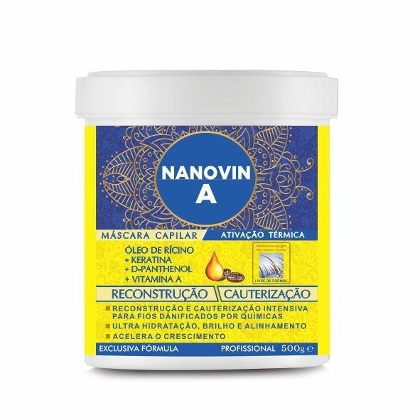 Máscara de Reconstrução e Hidratação 500g - Nanovin A