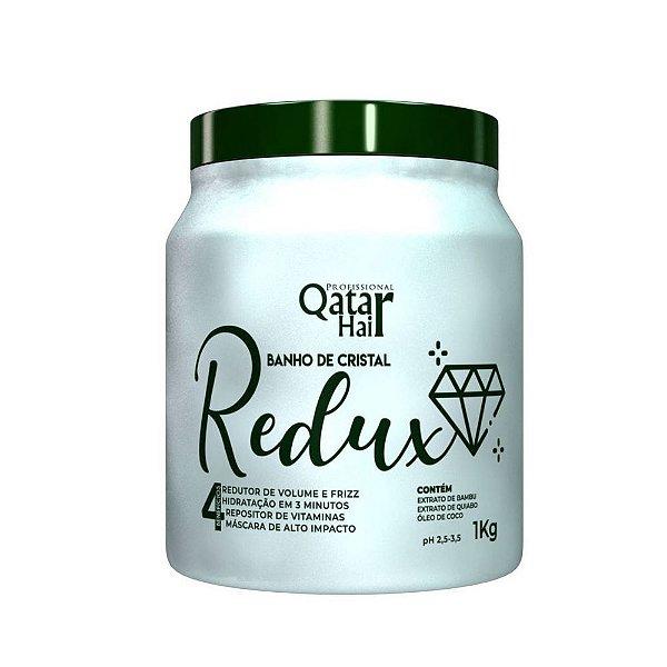 Redux Máscara Banho de Cristal (Quiabo) 1kg - Qatar Hair