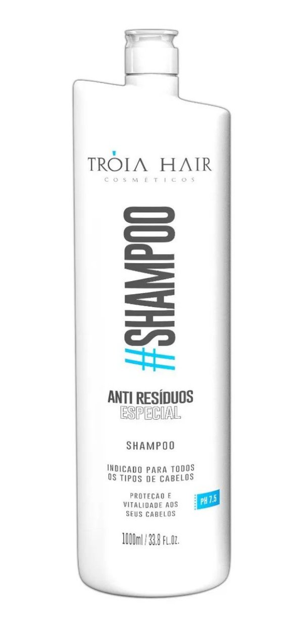 Shampoo Anti Resíduo Especial 1L - Troia Hair