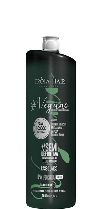 Progressiva Vegano Semi-Definitiva 100% Natural 1L - Troia Hair