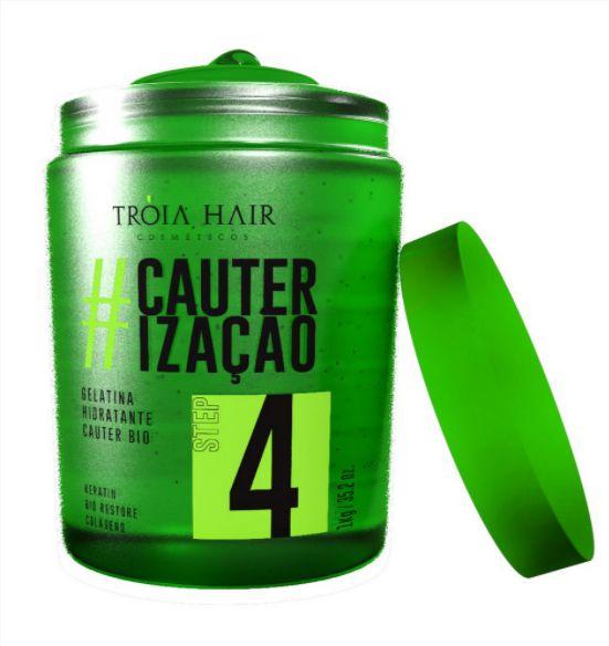 Gelatina Verde #Cauterização 1kg - Troia Hair