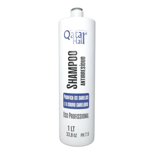 Shampoo Antirresíduo 1L- Qatar Hair