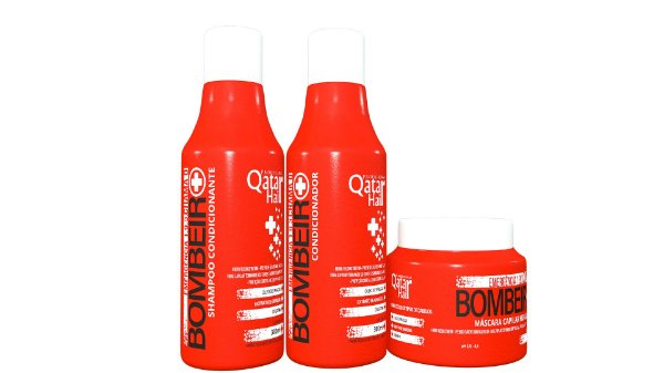 Kit Chama o Bombeiro 300ml - Qatar Hair