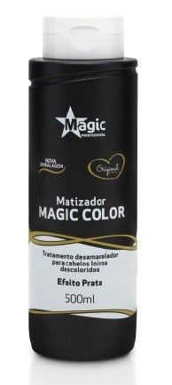 Magic Color Máscara  Matizadora Tradicional Platinum Blond ( Efeito prata) 500 ml
