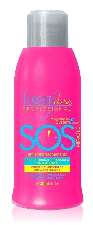 SOS Reconstrutor Capilar Antiemborrachamento Forever Liss 300ml