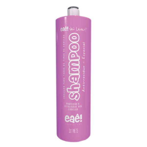 Shampoo Anti Resíduo Especial 1L - Eaê! Cosméticos